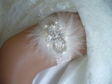 Esküvői harisnyakötő 15 , Bridal garter 15 Forrás:http://www.etsy.com
