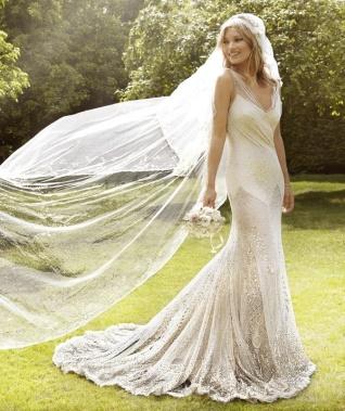 Kate Moss esküvői fotó / Kate Moss wedding photo
