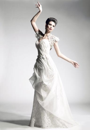 Blanka Matragi menyasszonyi ruha 1 , Blanka Matragi wedding gown 1 Forrás:http://www.blankamatragi.cz